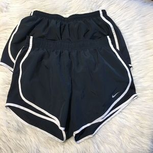 Lot of 2 Nike Dri Fit M active shorts